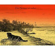 Der Sommer ist vorbei Photographic Print