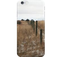 Along the Fence iPhone Case/Skin
