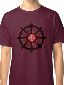 dharma wheel of life Classic T-Shirt