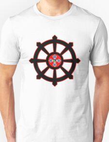 dharma wheel of life T-Shirt