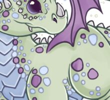 Dragon in the Clouds Sticker