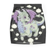 Dragon in the Clouds Mini Skirt