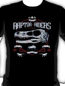 Jurassic World Raptor Riders Biker Insignia T-Shirt