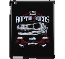 Jurassic World Raptor Riders Biker Insignia iPad Case/Skin