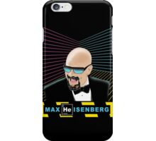 Heisenberg / Max Headroom Mashup iPhone Case/Skin