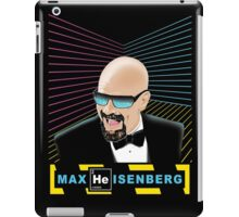 Heisenberg / Max Headroom Mashup iPad Case/Skin