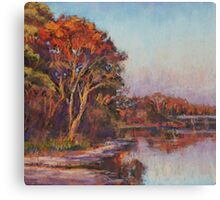 Early morning, Lake Cathie Canvas Print