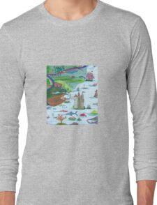 Map Long Sleeve T-Shirt