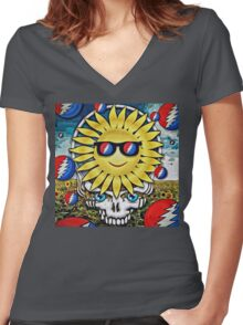 Solstice 2015 Women's Fitted V-Neck T-Shirt