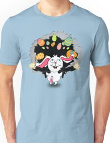 TiCkY!  The Crazy Easter Bunny Unisex T-Shirt