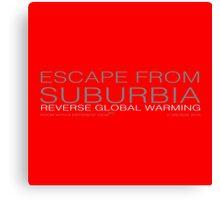 4EARTH Project - escape Canvas Print