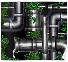 """Vine Ripe Pipes"" Poster"
