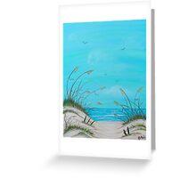 """Beach Paradise"" Greeting Card"