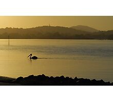 Towards the light - Forster NSW Australia Photographic Print