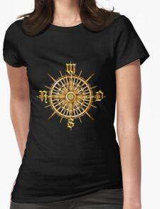 PC Gamer's Compass - Adventurer Womens Fitted T-Shirt