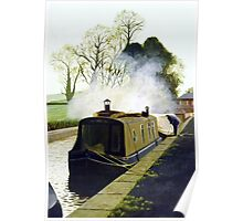 Winter Morning at Mere, Cheshire Poster