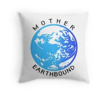 Mother Earthbound Throw Pillow