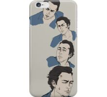Blue survivor- Nick iPhone Case/Skin