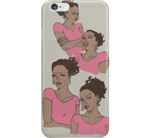Pink survivor - Rochelle iPhone Case/Skin