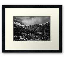 Million Dollar Highway View Framed Print