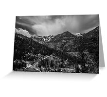 Million Dollar Highway View Greeting Card