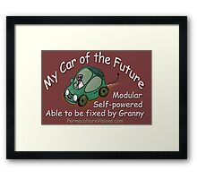 The Car Of My Future Framed Print