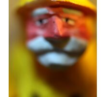 Captain Blur Photographic Print