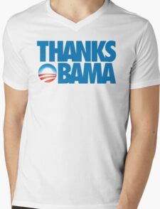 Thanks Obama Mens V-Neck T-Shirt