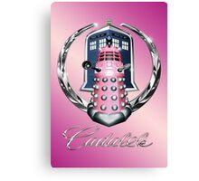 Pink Cadalek Canvas Print
