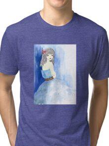A Blue Breath Of Winter Tri-blend T-Shirt