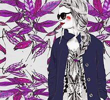Purple Fusion by Ali J
