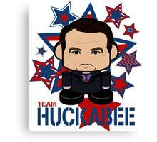 Team Huckabee Politico'bot Toy Robot Canvas Print