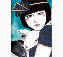 Portrait of a japanese inspired woman T-Shirt