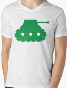 Mini Army Tank Mens V-Neck T-Shirt