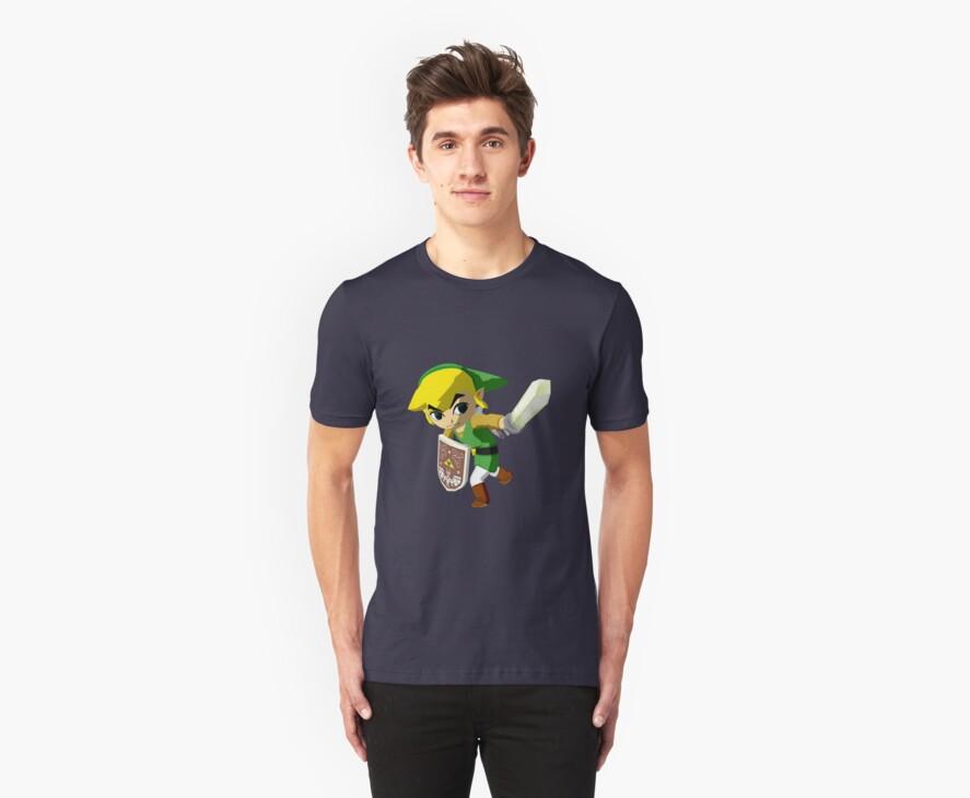 Link Windwaker by Rainbowdropz