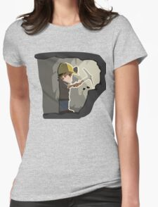 Mining Man, Game Design Womens Fitted T-Shirt