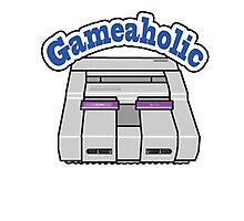 Gameaholic Photographic Print