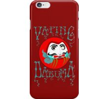 vaping daruma iPhone Case/Skin
