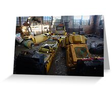 Transformers 2012 Greeting Card