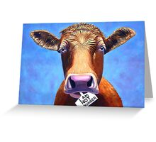 I Am Not a Number. Greeting Card