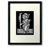 Mayan Jaguar God Framed Print