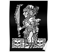 Mayan Jaguar God Poster