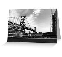 BEN FRANKLIN BRIDGE 78 Greeting Card