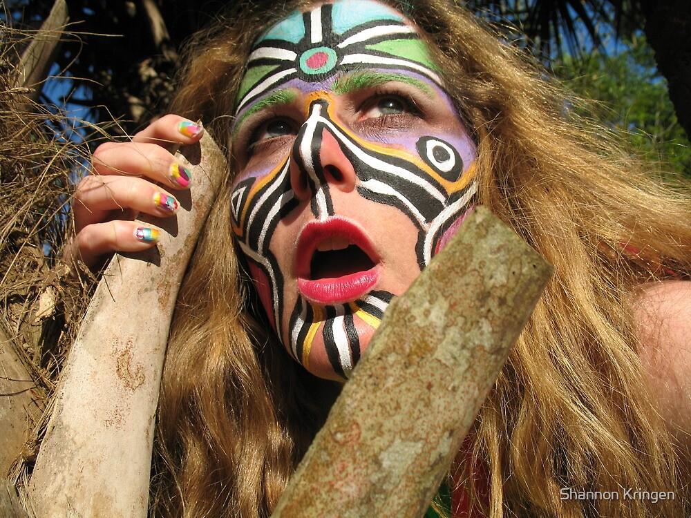 fierce goddess kring by Shannon Kringen