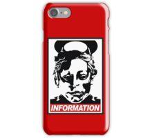 "Heavenly Host ""Information!"" iPhone Case/Skin"