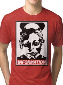 "Heavenly Host ""Information!"" Tri-blend T-Shirt"