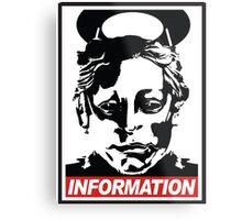 "Heavenly Host ""Information!"" Metal Print"
