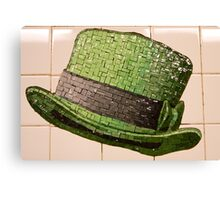 St. Patrick's Day Topper Canvas Print