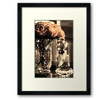 a touch of Romance Framed Print