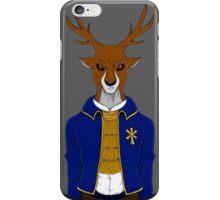 Evil corporate Deer  iPhone Case/Skin